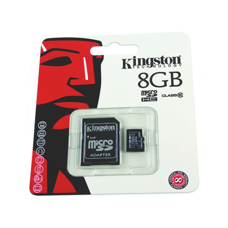 KINGSTON mikro SDHC karta SD CARD 8GB sd-card-8gb