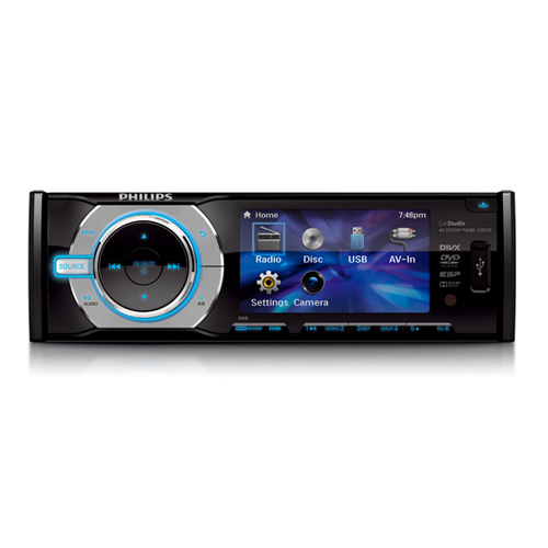 "PHILIPS autorádio DVD / CD / USB + 3"" monitorem CED232 ced232"