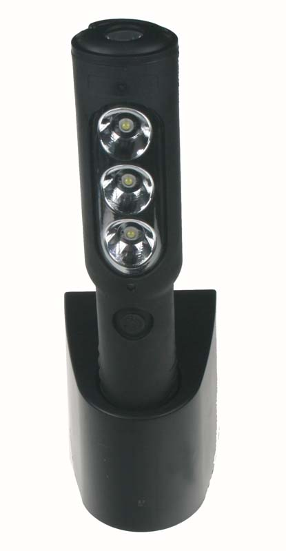 TOP LED lampa 3x1w +1w/aku LED822 led822
