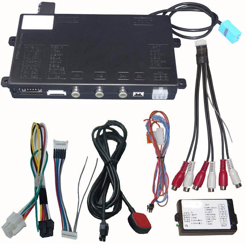 Video vstup pro Opel DVD600/900, Toyota, Lexus, Land Rover, Chevrolet mi1253 mi1253