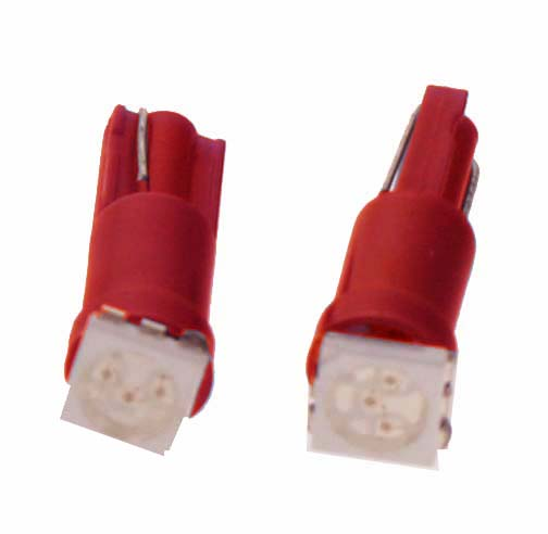LED T5 červená, 12V, 1LED/3SMD 95181red 95181red