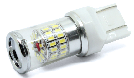 TURBO LED T20 (7443) bílá, 12-24V, 48W 95T-T20-48W01 95t-t20-48w01