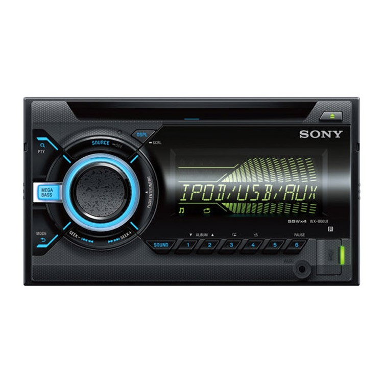 Autorádio SONY, 2DIN s CD, USB, DSEE, DSO WX800UI.EUR wx800ui-eur