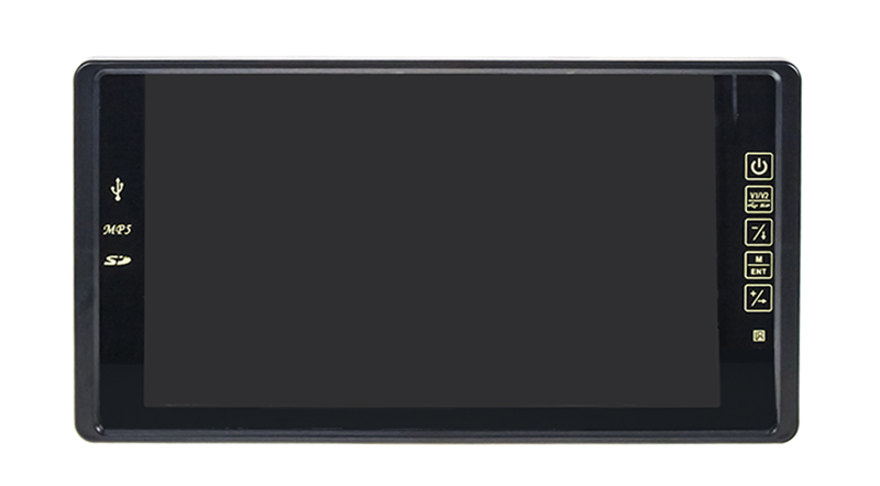 "LCD monitor 9"" na zrcátko s USB / SD slotem ds-495 ds-495"