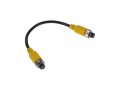 Kabel video 4pin samice / samice, 0,2m svkab02s