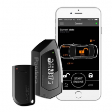 Dvoucestný CAN BUS autoalarm s technologii BLUETOOTH Pandora LIGHT PRO