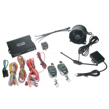 SPY 2-WAY CAR autoalarm, 2 x LCD ovladač spy22